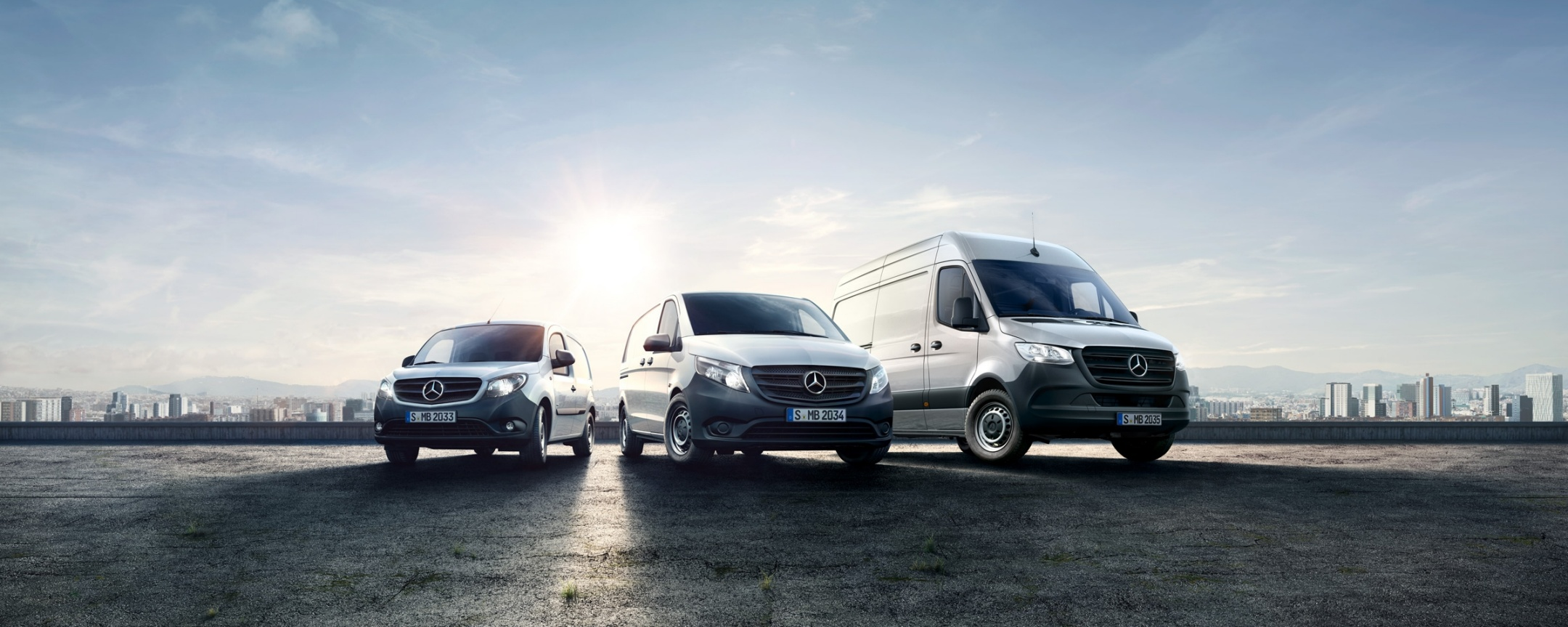 Mercedes-Benz Range со новиот Sprinter, Citan и Vito